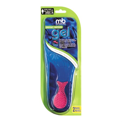 GEL EVERYDAY INSOLES 2 PACK